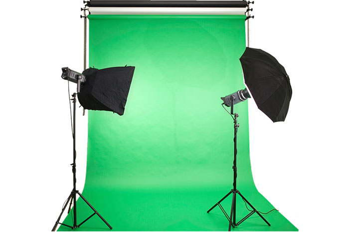 green screen studio well imagine that