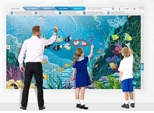 we sell whiteboards and projectors